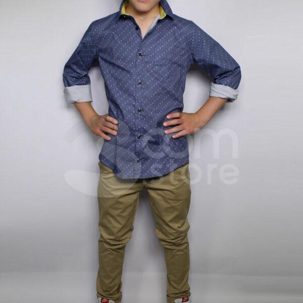 Camicia Azzurra 3com